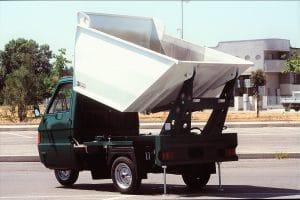 motocarro con vasca Rossi